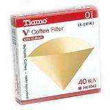 TIAMO V60-02 Filter 40pcs [HG3043] - Kertas Filter Kopi